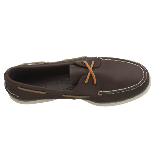 Sperry 2 Eye, Scarpe da Barca Uomo Marrone (Brown)