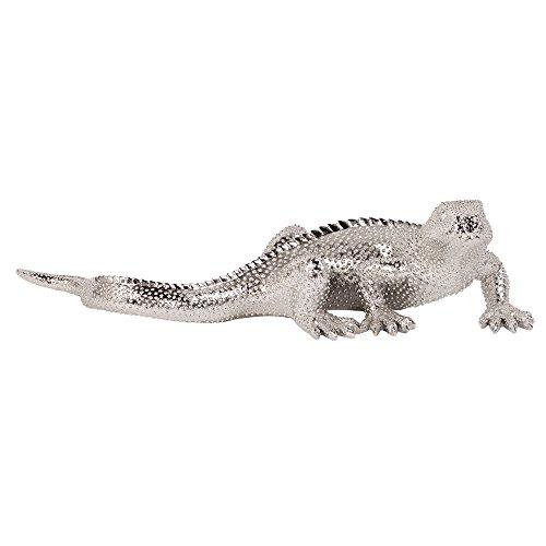 (Howard Elliott 12170 Bright Plated Lizard, Nickel)