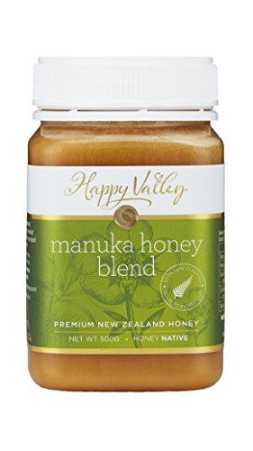 Happy Valley Honey Manuka Blend Honey, 500g (17.6oz)