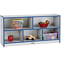 Rainbow Accents Toddler Single Mobile Storage Unit