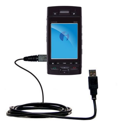 - Classic Straight USB Cable for the i-Mate Ultimate 9502 with Power Hot Sync and Charge Capabilities - Uses Gomadic TipExchange Technology