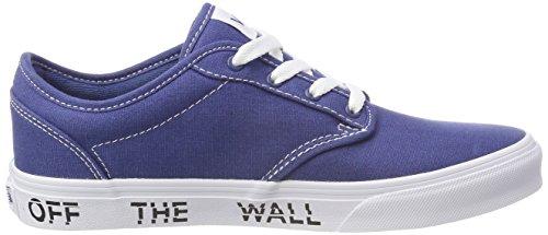 Vans Atwood, Zapatillas Unisex Niños Azul (Printed Fox)