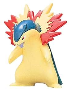 "Takara Tomy Pokemon Monster Collection Mini Figure - 1.5"" Typhlosion / Bakphoon (M-076) (Japanese Import)"