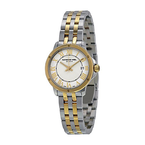 Raymond-Weil-Tango-White-Dial-Two-Tone-Stainless-Steel-Ladies-Watch-5391-STP-00308