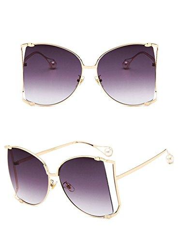 Las de GCC B H Gato de Sol expuesta de de Pearl Metal del Gafas Gafas Ojo Sol U4CIqCwd