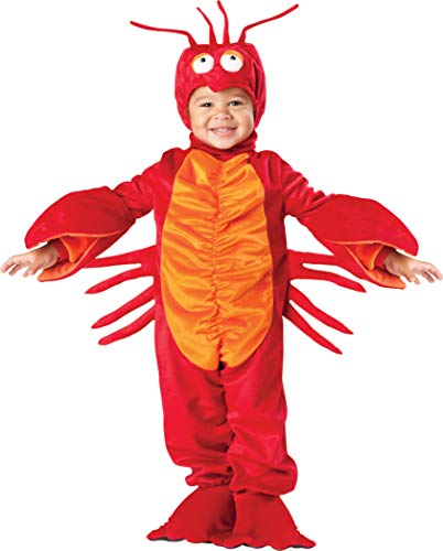 InCharacter Costumes Baby's Lil' Lobster Costume, Red, ()