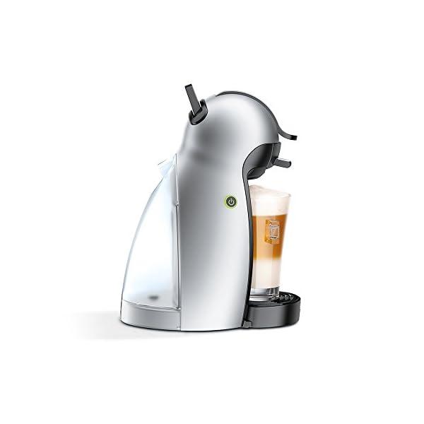 NESCAFÉ DOLCE GUSTO Piccolo EDG201.S Macchina per Caffè Espresso e altre bevande Manuale Silver di De'Longhi 4