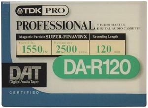 TDK DAR120-120 Minute DAT Tape