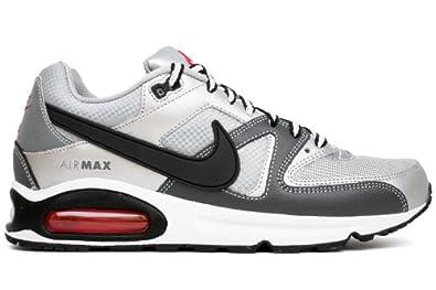 Nike Mens Running Shoes AIR MAX COMMAND Metallic Silver / Black / Grey SZ 11