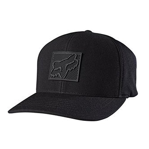 Fox Men's Completely Flexfit Hat, Black, (Mens Black Fox)