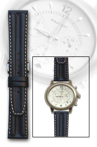 海軍double-hump oil-tannedカーフスキンレザー腕時計バンド18 mm  B004TTGVJM