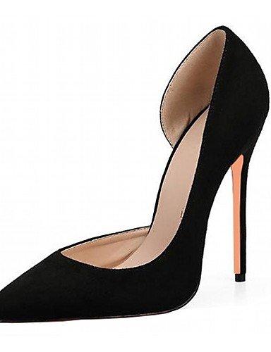 Trabajo Black De Cn36 Uk3 Stiletto Uk4 Mujer Red us6 Patentado Vestido Noche tac¨®n cuero boda Zapatos us5 Uk Oficina Fiesta 5 Zq Casual Cn35 tacones 5 Microfibra Y Eu36 tacones FCqwvf5