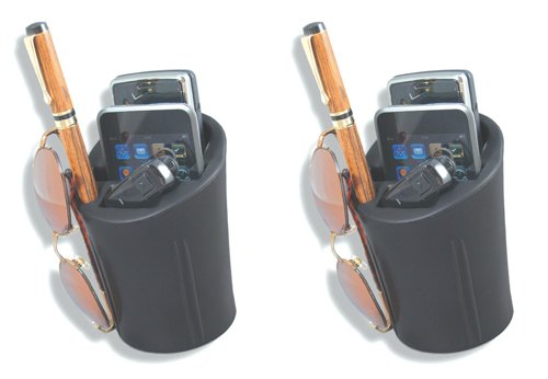 Heininger 1072 CommuteMate Cell-Cup Cell Phone Holder, Pack of 2