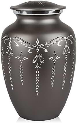 Perfect Memorials Fancy Flourish Cremation Urn, Large