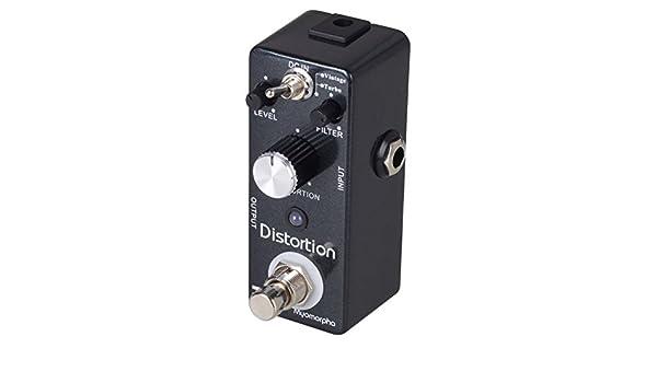 Eno T-Cube TC-13 Myomorpha - Pedal de efecto distorsión gris: Amazon.es: Instrumentos musicales