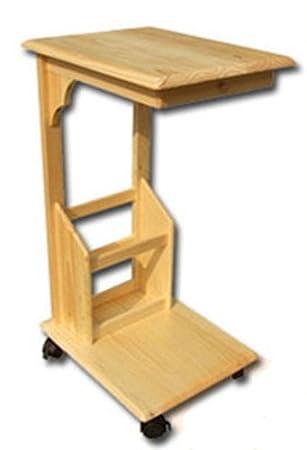 Table De Lit Roulante En Bois Table Pour Ordinateur Portable Table