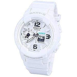 41WWUCktyeL. SS300  - Casio Baby-G BGA230-7B White / White Resin Analog/Digital Quartz Women's Watch