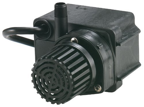 Direct Drive Pond - Little Giant 566611 300 GPH Direct Drive Pond Pump, Submersible Pump, 47 watts (Renewed)
