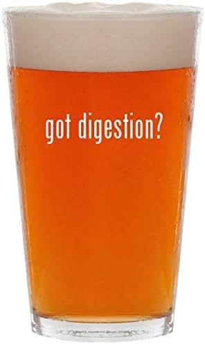 got digestion? - 16oz Pint Beer Glass