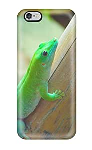 Fashion Protective Green Anole Case Cover For Iphone 6 Plus