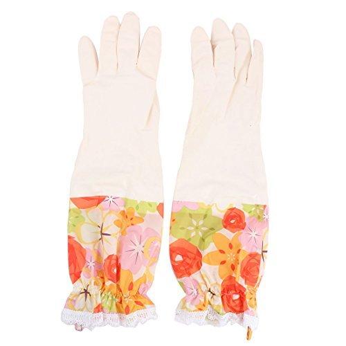 Amazon.com: Los guantes de látex eDealMax Patrón Flor del ...