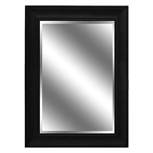 AA Warehousing 5quot Frame 24quot X 36quot Dark Espresso Woodgrain Mirror 1quot Bevel