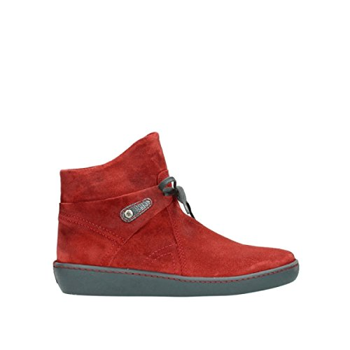 Pharos Stivaletti Wolky 450 Red Comfort Suede UAw8AxHq