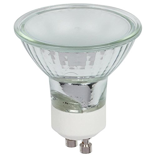 Mr16 Base Gu10 Flood (Westinghouse 0478900 50W Mr16 Halogen Flood Frost Lens Light Bulb with Gu10 Base (3 Pack))