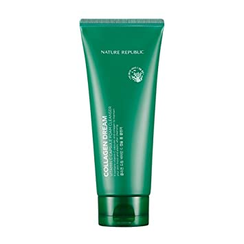 Nature republic Collagen Vitamin C Foam Cleanser SONIC ADVANCED CLEANSING SYSTEM. BEST SONIC CLEANER. 2 BRUSH HEADS! Waterproof, Batteries included.