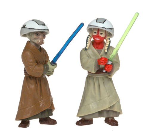 Ashla /& Jempa Jedi Temple Training Action Figures