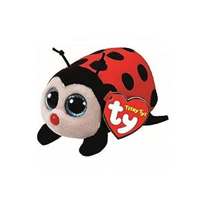 Amazon.com  Ty Teeny Beanie Boo Trixy - Lady Bug Plush  Toys   Games fe3c959c16