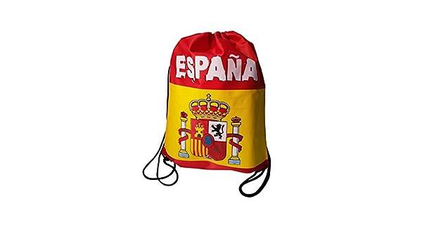 Q&J Mochila Bolsa con Cuerdas para Llevar Estampada con la Bandera ...