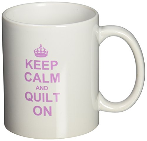 3drose Keep Calm Quilt Gifts Pink