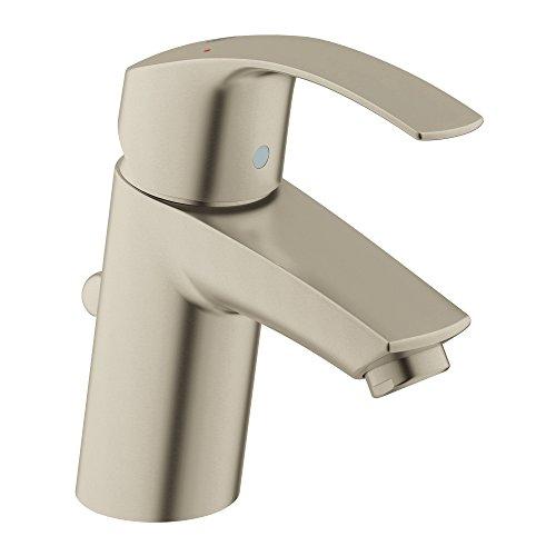 - Eurosmart New S-Size Single-Handle Single-Hole Bathroom Faucet - 1.2 GPM