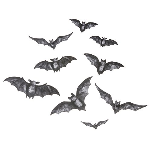 Martha Stewart Vinyl Bat Mirror Clings -