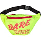 Neon Retro DARE Fanny Pack Waist Bags with...
