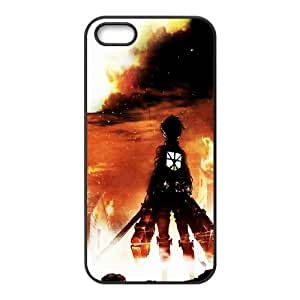 Attack On Titan iPhone 4 4s Cell Phone Case Black gift pjz003-9387877