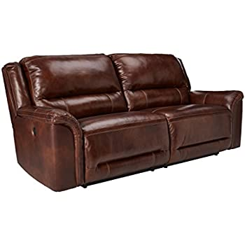 Amazon.com: Ashley Furniture Signature Design - Jayron 2 Seat ...