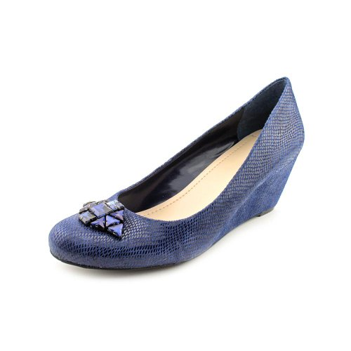 Bcbgeneration Mujeres Treese Wedge Pump Blue Fusion