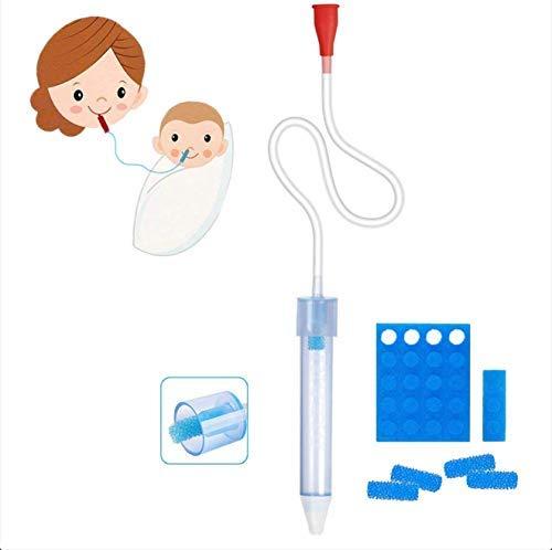 Premium Baby Nasal Aspirator Infant Booger Sucker Non-Irritation Fast and Reusable
