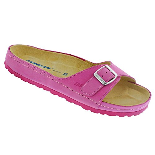 4c0a4fd4b0 Sanosan Women's Miami Sandals in Nubuck Leather - Comfort Plus