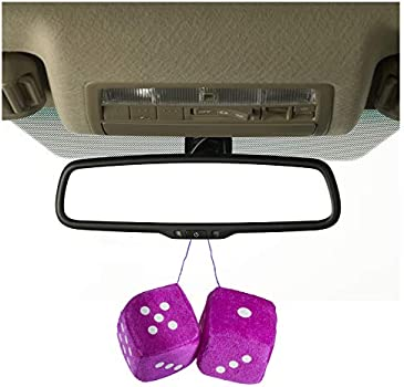Fuzzy Dice Car Dice Mirror Hanging Accessories by FunnyPartyHats ab285
