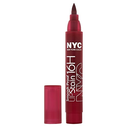 Price comparison product image New York Color Smooch Proof Lip Stain, Berry Long Time, 0.1 Fluid Ounce