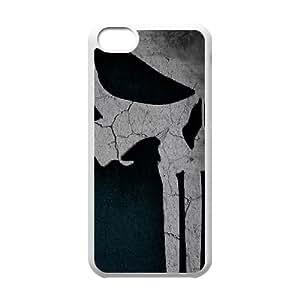 WEUKK The Punisher Logo iPhone 5C cover case, customized case for iPhone 5C The Punisher Logo, customized The Punisher Logo phone case