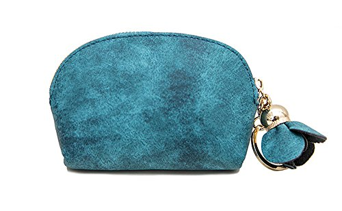 Women Coin Purse Zipper Small Ring Keychain Pouches ()