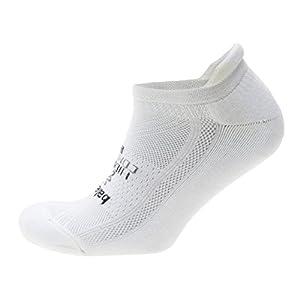 Balega Hidden Comfort Socks For Men and Women, White, Small