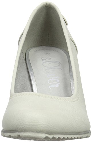 Zapatos Mujer Tacón s Oliver22404 109 Blanco de OFFWHITE BwAqRq8