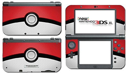 Pokemon pokeball pikachu special edition video game vinyl decal skin sticker cover for the new nintendo