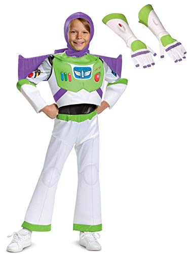 Buzz Lightyear Costumes Kit - Toy Story Kids Buzz Lightyear Deluxe
