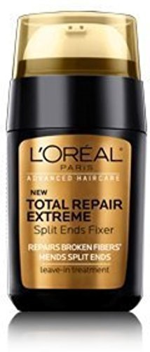 - L'Oreal Advanced Haircare Total Repair Extreme Split Ends Fixer Leave-In Treatment 0.50 oz (Pack of 3)